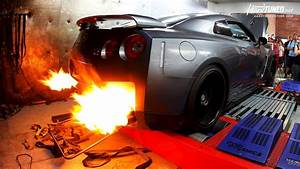 Nissan GT R, Car, Fire, Tuning Wallpapers HD / Desktop and