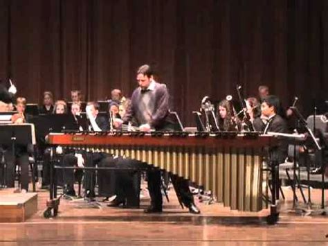 Kyle Forsthoff Concerto For Marimba And Band By David