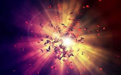 Explosion Energy Background 4k Wallpapers Shards Abstract