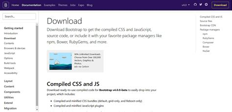 How To Install Bootstrap Template by How To Install Bootstrap 4 Beta