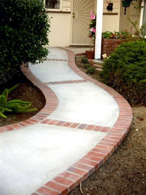 brick and concrete walkway 25 best ideas about brick walkway on pinterest brick pathway brick walkway diy and brick garden