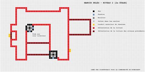 Minecraft Maison Moderne Plan  équipement De Maison
