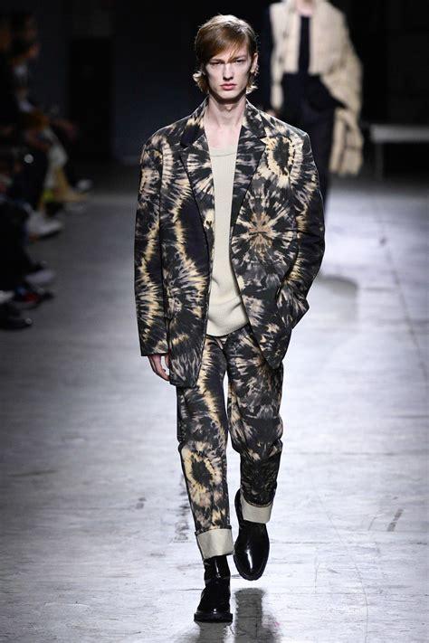 dries van noten fall  menswear fashion show