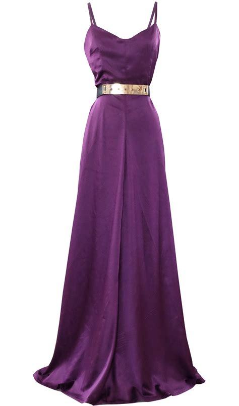 evening satin maxi dress by