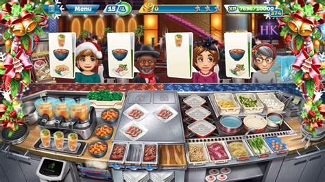 cooking fever hells kitchen   christmas theme youtube