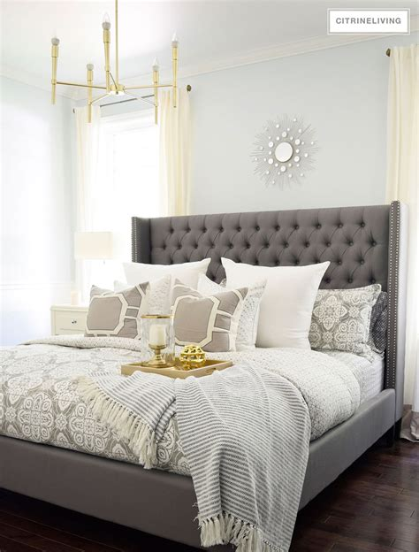 chagne color bedroom changing the bedding for fall and winter 11015