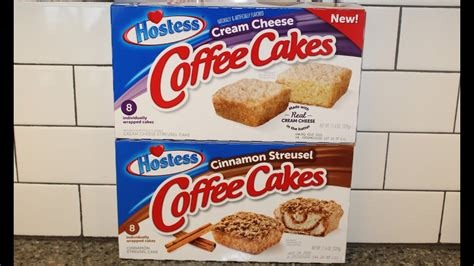 Now, not only can you enjoy the brand's cinnamon streusel coffee cake, but you can also indulge in a. Hostess Coffee Cakes: Cream Cheese & Cinnamon Streusel ...