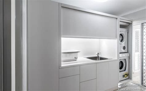 Cupboard Door Australia by Rolling Doors For Laundry Room The Modern Laundry