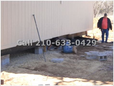 foundations fha retro fit concrete runners mobile home