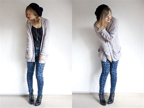 Gray Cardigan Outfit