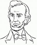Coloring Pages Presidents President William Jefferson Popular Clinton sketch template