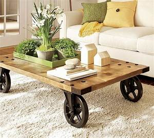 12 modern coffee and side tables with wheels With modern coffee table with wheels