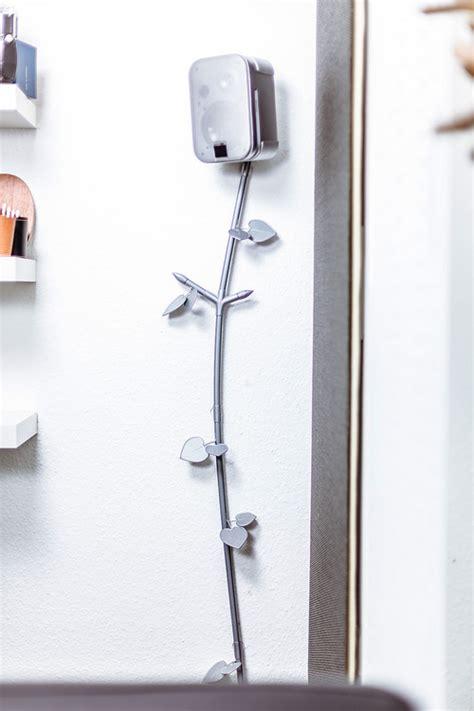 Kabel Aus Der Wand Verstecken by St 246 Rende Kabel Schnell Dekorieren Statt M 252 Hsam Zu Verstecken