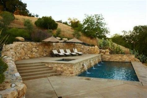 Severely Sloped Yard? Make A Terraced Pool. By Aisha