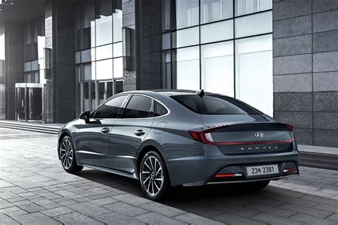 revised engine  gearbox   hyundai sonata news