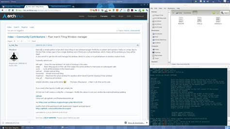 Tiling Window Manager Gnome by Gnome 3 Fallback Tweaks