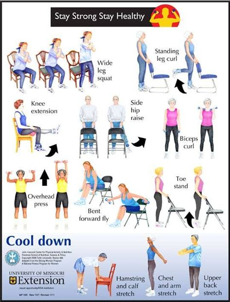 Chair Exercise For Seniors Handout by Exercise For Seniors Or If You Limited Mobility Www
