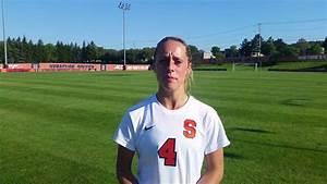 Women's Soccer | Army Postgame - Eva Gordon - YouTube