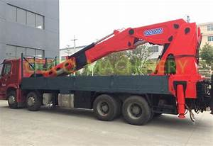 China 90t Semi-knuckle Boom Truck Mounted Crane Factory And Manufacturers - Quotation