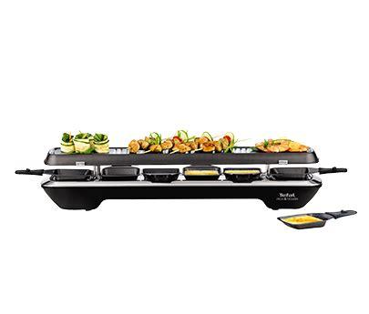 appareil cuisine conviviale appareil à raclette simply line cuisine conviviale tefal