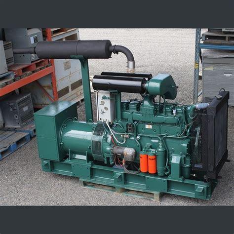 volvo penta  kw diesel generator  sale volvo penta