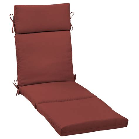 home depot chaise lounge hton bay chili solid chaise lounge cushion the home