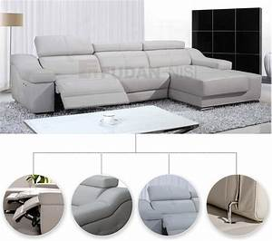 Fudan-nisi, Functional, Sofa, With, 2, Electric, Recliners