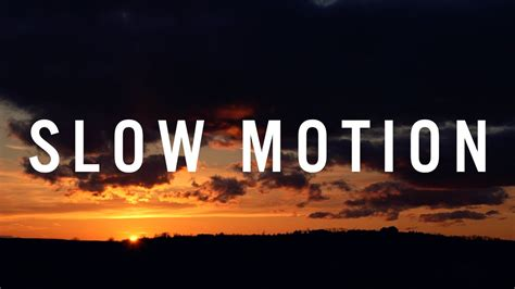 heirsound slow motion official  video youtube