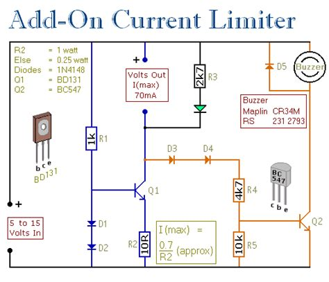 How You Make Current Limiting Knob For Power Supplies