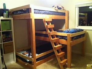 plans for bunk bed with slide Quick Woodworking Projects