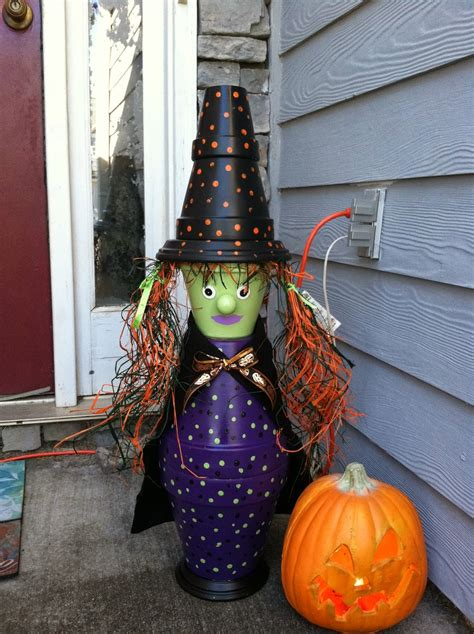 awesome clay pot halloween crafts