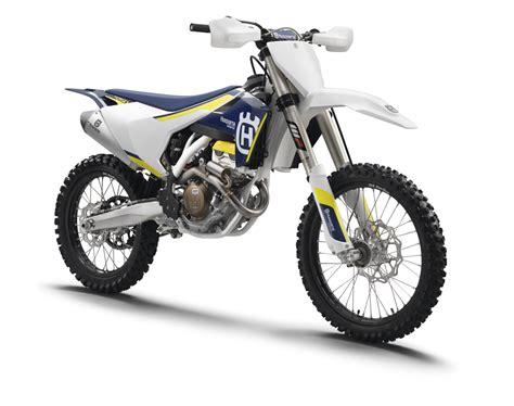 Enduro Te 250 And Husqvarna Moto Cross Fc 250 by 2016 Husqvarna Motorcycles Look Transworld Motocross