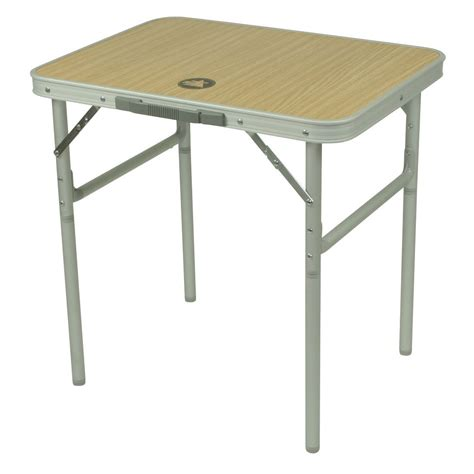 10t portable single table pliante de cing 60x45cm aluminium d 233 cor en bois avec poign 233 e