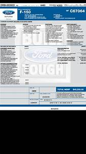 just tell us your under invoice price paid page 96 With 2016 f 150 invoice price