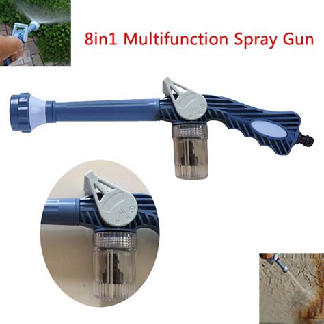 Ez Jet Water Cannon ez jet water cannon spray gun with soap dispenser 8 in1