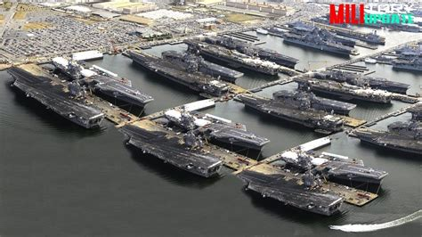 and busiest naval base in the united states of america