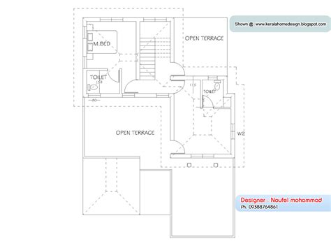 Home plan and elevation 1900 Sq. Ft ~ Kerala House Design Idea