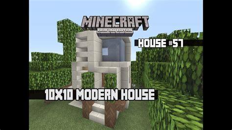 Minecraft Xbox 360 10x10 Modern House