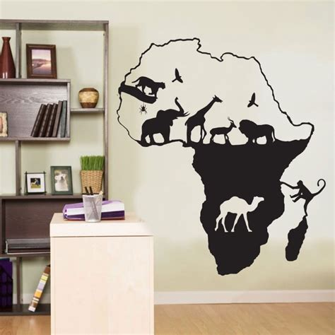 Handmade by a small business. Aliexpress.com : Buy African Wall Decal Africa Animals ...