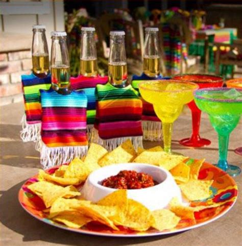 Mexican Themed Party Food And Drinks  Home Party Theme Ideas