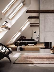 26, Stylish, Attic, Living, Rooms, Decor, Ideas