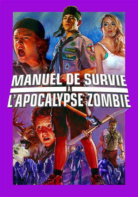 zombie apocalypse scouts guide movie fanart poster movies tv