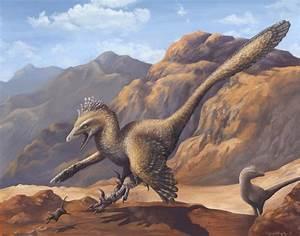 Art of Emily Willoughby: The Velociraptor Hunting Dance  Velociraptor