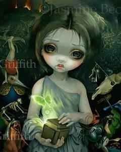 Pandora Jasmine Becket Griffith CANVAS PRINT Pop
