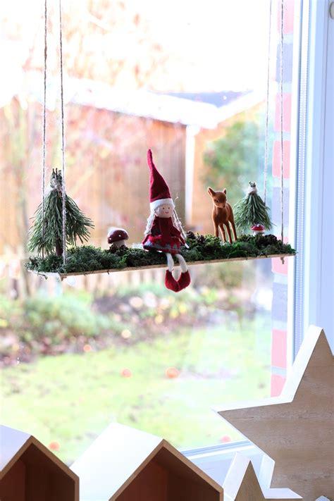 Fensterdeko Weihnachten Diy by Fensterdeko Weihnachten Diy Lavendelblog