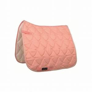tapis cheval rose pastel selle mixte ou dressage pas cher With tapis de cheval pas cher