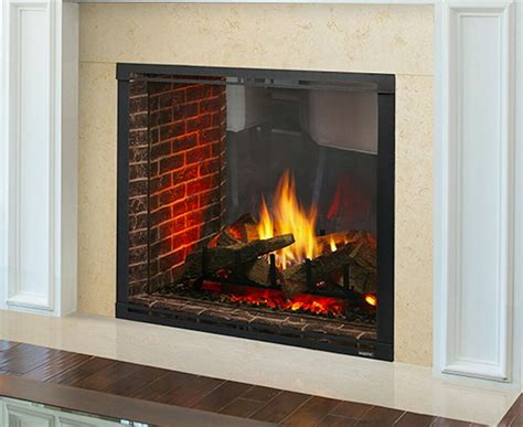 majestic vent free fireplace majestic marquis ii marq42in 42 quot see thru direct vent gas