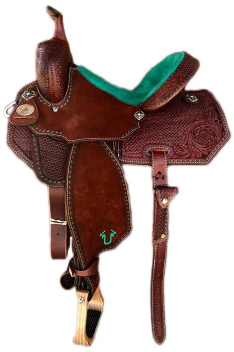 saddle barrel saddles brand usher racing