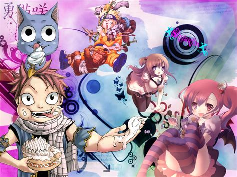 Anime Mix Wallpaper - anime mix wallpaper by xshyartinx on deviantart