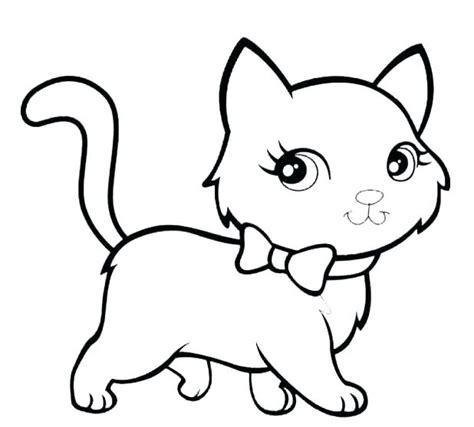 Cartoon Cat Coloring Pages Surfnpigcom